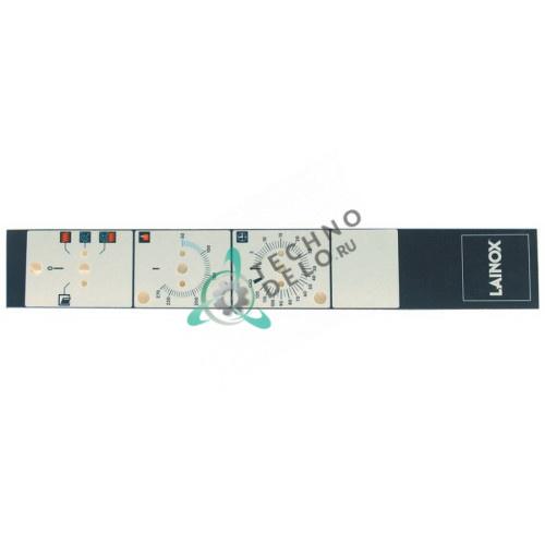 Стикер 67010490 LAR67010490 R67010490 панели управления для профессиональной конвекционной печи Lainox, Mareno