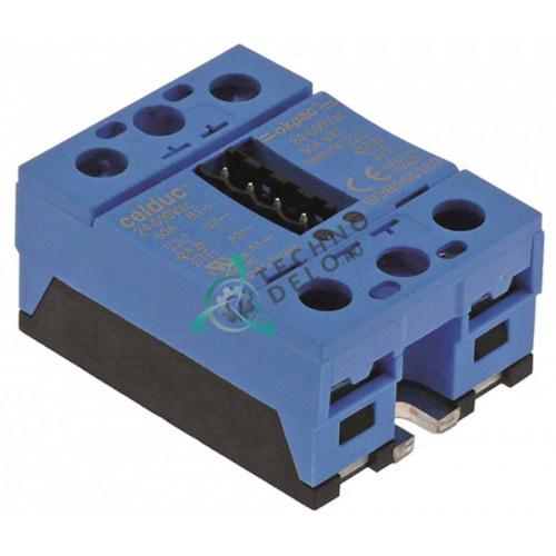 Реле Celduc SOB965160 2 фазы 50А 24-600В 59x46мм 164888 для Küppersbusch CCE106 и др.