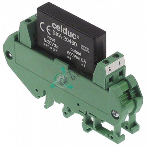 Реле Celduc SKA20460 5A 600V для печи Küppersbusch CCE106, CCE110 и др.