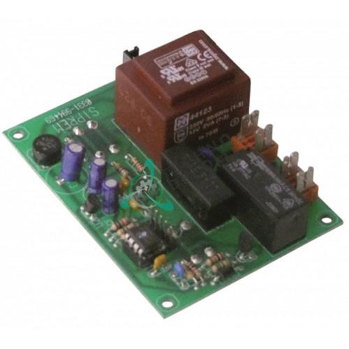 Плата 230В DLX30003 тестораскаточной машины Mecnosud DL 30-40
