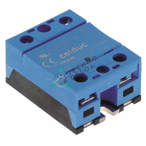 Реле силовое Celduc SOB68070 1 фаза 95A 24-510В 58x45мм 203668 752665 для MKN, Palux и др.