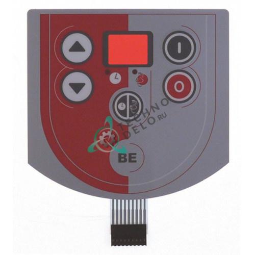 Панель управления (гибкая) 130x123мм 2149388 2504482 тестомесильной машины Sammic BE-10 и др.