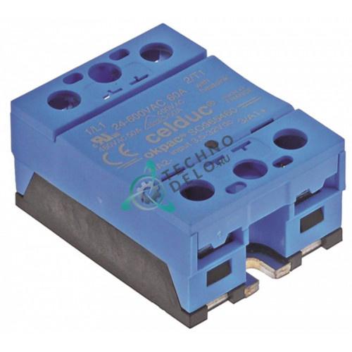 Реле Celduc SO965460 1 фаза 60A 24-600V EL0752401 для печи Eloma, Falcon, Palux и др.