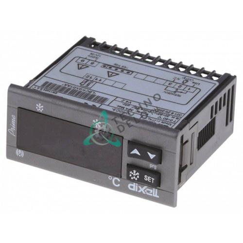 Контроллер Dixell XR20C-0R0C3 71x29x76мм 12VAC/VDC датчик NTC 1 выход реле 0-60°C 308X01 для оборудования Infrico и др.