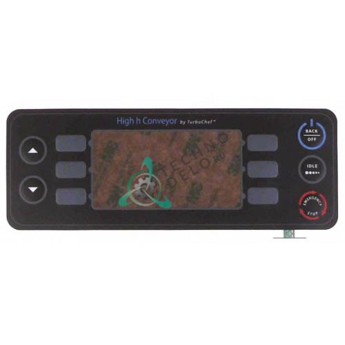 Панель управления (гибкая) 203x74мм HHC-1234 печи TurboChef HHC2020/HHC3240