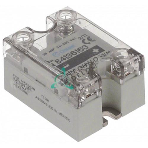 Реле твердотельное Crouzet 24-280В 25А тип GN84136163 к оборудованию Expobar и др.