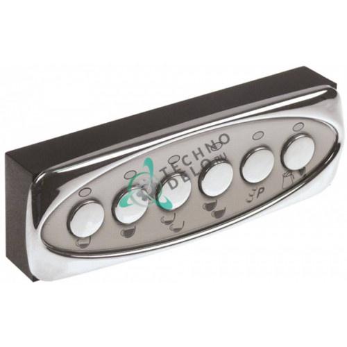 Панель управления Gicar 6 кнопок 135x44 мм 5031350 для профессиональной кофемашины BFC, Royal Synchro и др.