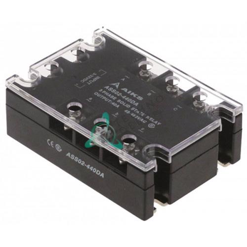 Реле полупроводник AIKS ASS02-440DA 40А 48-480В 505000 для Gastrofrit