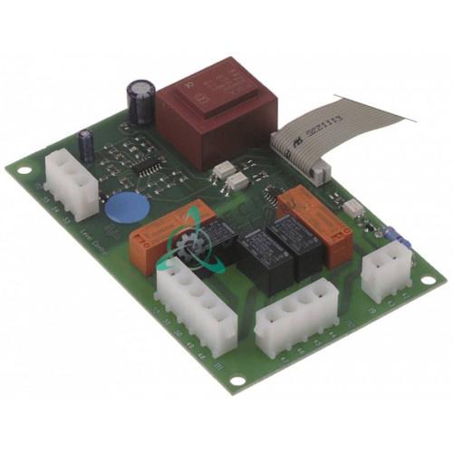 Плата электронная EVCO 130x86мм R65301480 пароконвектомата Ambach, Lainox, Mareno, Olis и др.
