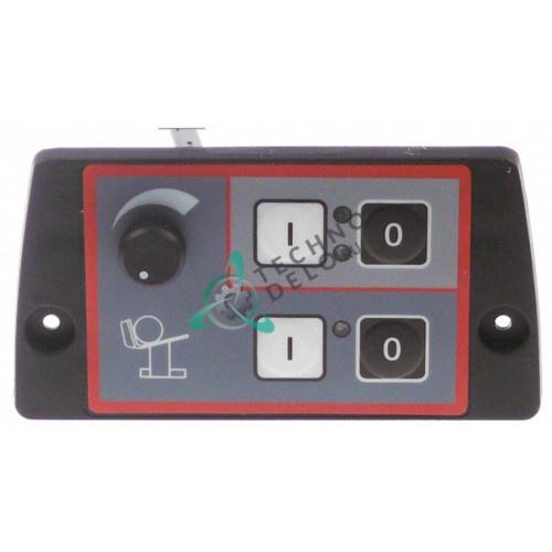 Панель управления 4 кнопки 130x70мм I1683 для профессиональной ломтерезки (слайсера) Omas CX MATIC 35E и др.