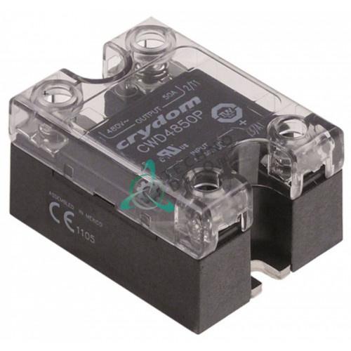 Реле полупроводниковое Crydom CWD4850P 1 фаза 50A 480V 4-32VDC 57x45мм 0K5070 для Electrolux, Zanussi и др.