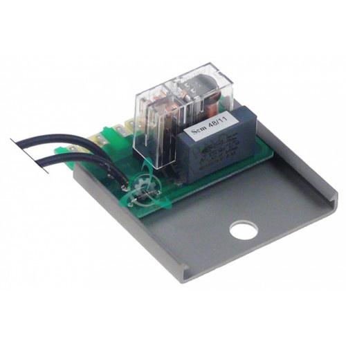 Плата электронная с реле провод L-220мм 164493 / M1235012 для пароконвектомата Hobart, MBM FEM110 и др.
