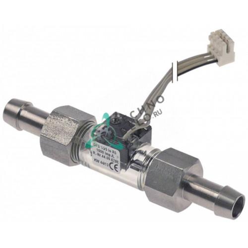 Расходомер вход/выход 10мм L-104мм провод L-1300мм 1-25 л/мин 44.00.670 87.00.655 для печи Rational и др.