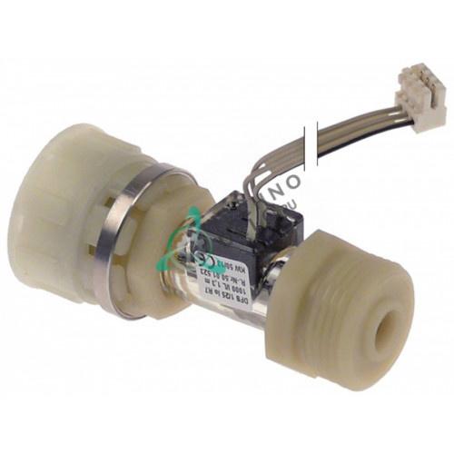 Расходомер 3/4 AG/IG L-78мм провод L-1300мм 1-25 л/мин 50.00.934 50.01.523 печи Rational SCC 61-202 и др.