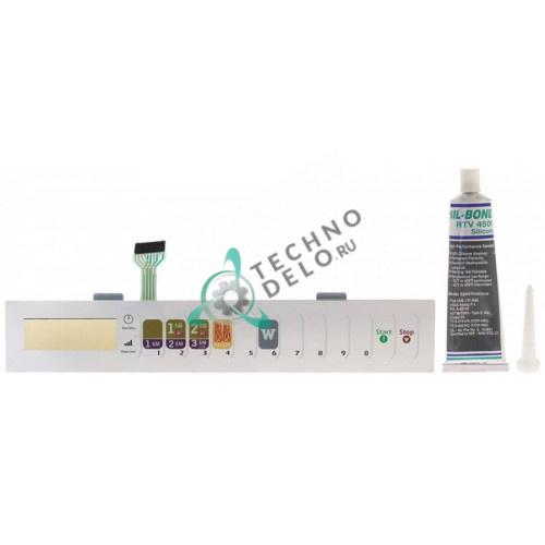 Панель управления OC524BK-P2000304M 340x58мм 59004114 микроволновой печи ACP