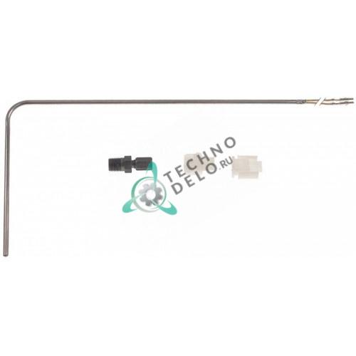 "Датчик температурный K (NiCr-Ni) ø4,7x280мм 1/4"" NPT кабель стеклоткань L-0,315м B6700601 для Pitco"