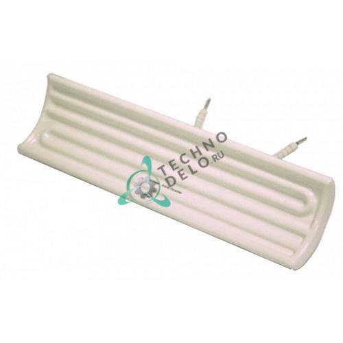 Нагреватель керамический 650Вт 230В 245x60x35мм 004898 для подогревателя картофеля Bertos и др.