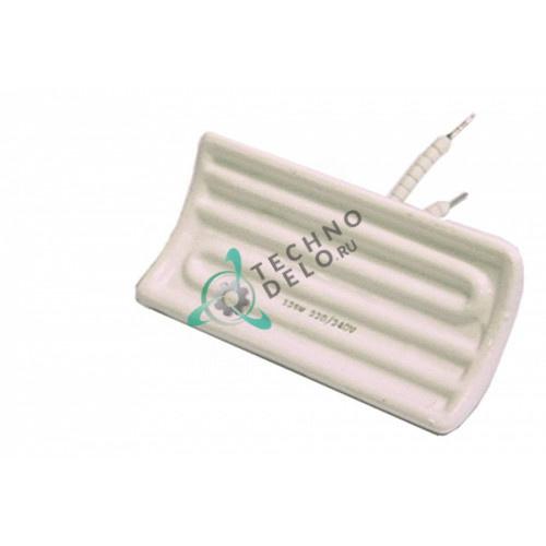 Нагреватель керамический 500Вт 230В 122x60x34мм