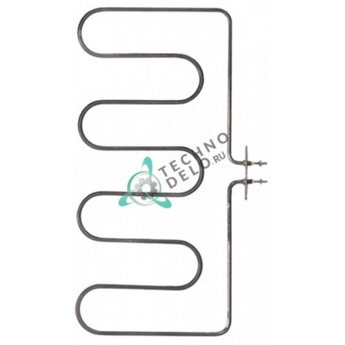 Тэн (1500Вт 230В) 223x430мм фланец 70x23мм M4 0K3586 / RC00000613 для Electrolux, Tecnoinox и др.