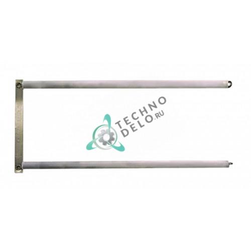 Нагреватель кварцевый 285x130мм 11,5мм 800Вт 230В для тостера CF Cenedese T920/T940, Aristarco 2P/3P и др.