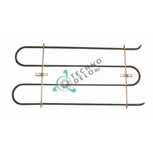 Тэн (1100Вт 380В) 435x202x33мм трубка d-6,3мм 180355 тип сухой нагреватель для мармита Blumauer