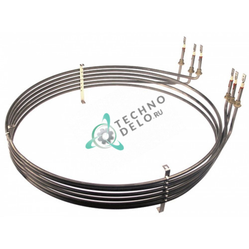 Тэн (15000Вт 220В) D-558/575мм L-605мм H-100мм M14x1,5 для конвекционной печи