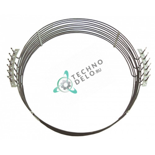 Тэн (15000Вт 230В) D-635/650мм L-696мм H-200мм 32001003 / 32001017 для пароконвектомата Emmepi