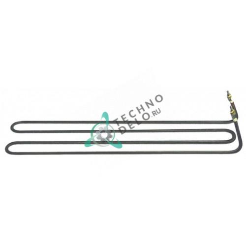Тэн (1100Вт 230В) 340x82x50мм трубка d-6,3мм M4 тип сухой нагреватель 260200020 для Gico 64-320TL-TLC-TR и др.