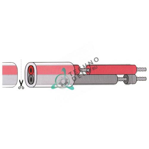 Кабель нагревательный AKO 230В 1756ом/м 30Вт/м d7мм