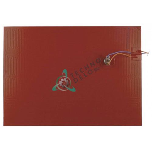 Пластина нагревательная IRCA 400x290мм 1000Вт 230В 032094 088274 для Afinox, Electrolux, Oztiryakiler, Zanussi