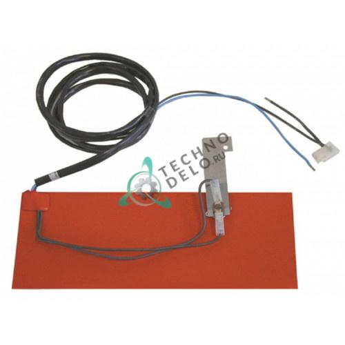 Пластина нагревательная 310x115мм 600Вт 230В 60003653 для Winterhalter GS 202/GS 215/GS 302 и др.