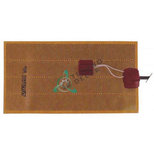 Пластина нагревательная IRCA 240x130мм 80Вт 230В 01233602R для Dexion, MBM и др.