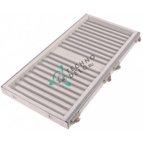 Конфорка нагреватель IRCA 4000Вт 230В 490x245мм 01030 для плиты Nayati, Tecnoinox