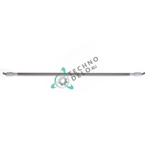 Нагреватель кварцевый 750Вт 115В 415мм ø11мм D04020 для печи Roller Grill CH 300A/FC 340TQ и др.
