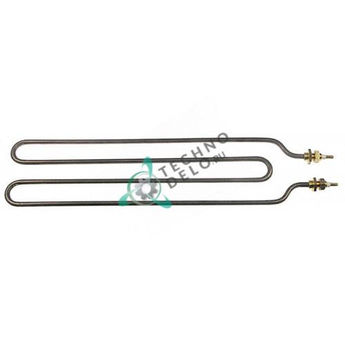 Тэн (1100Вт 240В) M10x1 375x90мм тип сухой нагреватель трубка d-6,3мм 0101494 SI0101494 для плиты Silko CTT70653 и др.