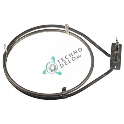 Тэн (1600Вт 230В) ø183/ø195мм L-250мм H-51мм трубка d-6,3мм A030008458 для Bartscher, RSI