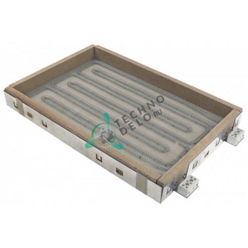 Конфорка нагреватель A.D. 100.1010 3500Вт 400В 415x275x46мм для сковороды Kuppersbusch, Palux