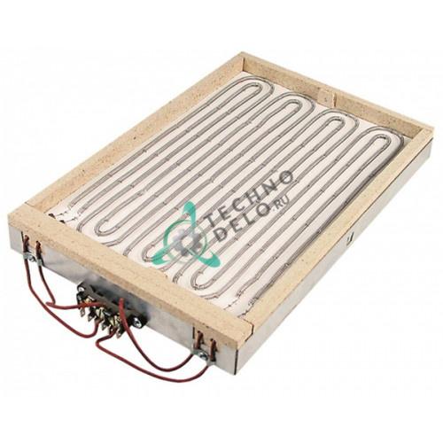Конфорка нагреватель AD 100.1010 3200Вт 400В 420x278мм для Kuppersbusch EEP500, Palux