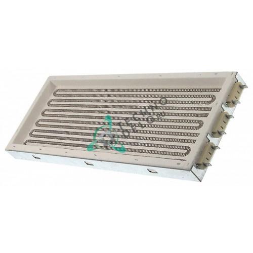 Нагреватель прямоугольный 2700Вт 230В для фритюрницы Zanussi/Electrolux Mafa и др.