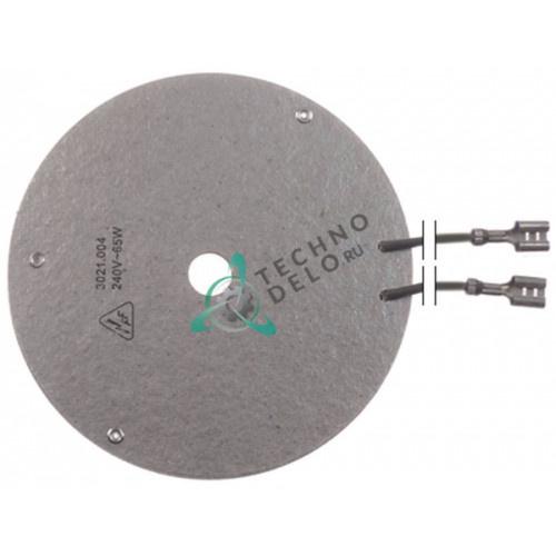 Нагреватель плоский 60Вт 230В D-100мм 6.240.029.000 кофеварки Bravilor Bonamat B5/VHG5 и др.