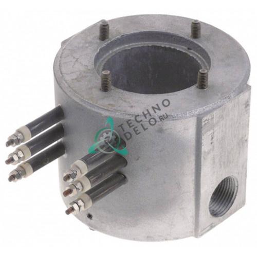 Нагреватель проточный 1500Вт 230В ø75мм H142мм 050N0110 для Camurri