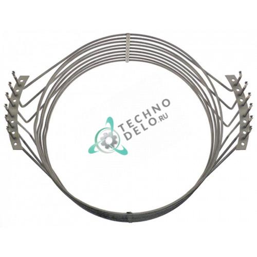 Тэн (15000Вт 230В) D-505/517мм L-620мм H-195мм 12026971 / RT32001002 для печи Rational CCC102, CCC202 и др.