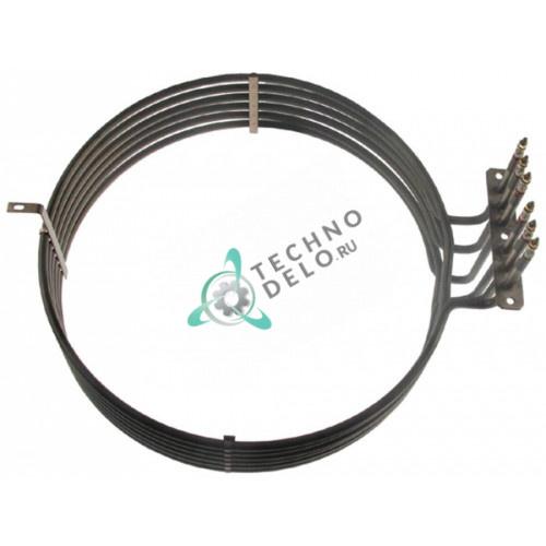 Тэн (14000Вт 230В) ø368мм/ø388мм L-420мм H-128мм M4 C7170 для печи Inoxtrend CBP-120E, CDA-120E и др.