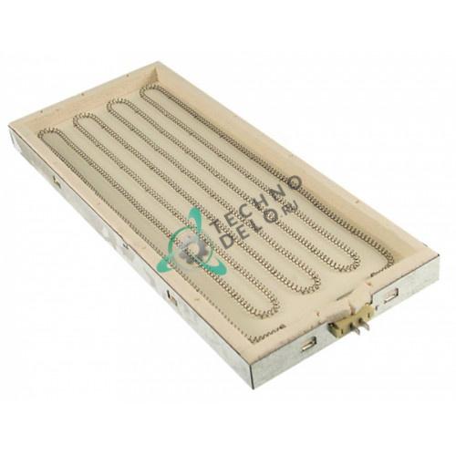 Конфорка нагреватель IRCA 1500Вт 230В 450x190мм 41826900713 для гриль-плиты Mareno и др.