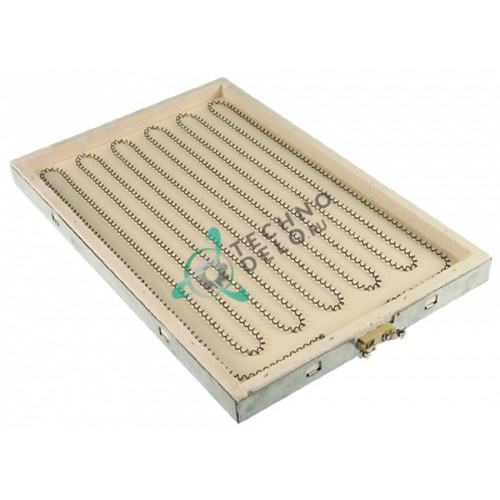 Конфорка нагреватель IRCA 2500Вт 230В 450x295мм 1037311213 для плиты Baron, Mareno