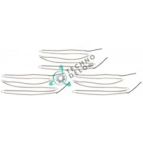 Спираль нагревательная нижняя 54600310 66009740 для пицца печи Moretti AHC C/AMALFI