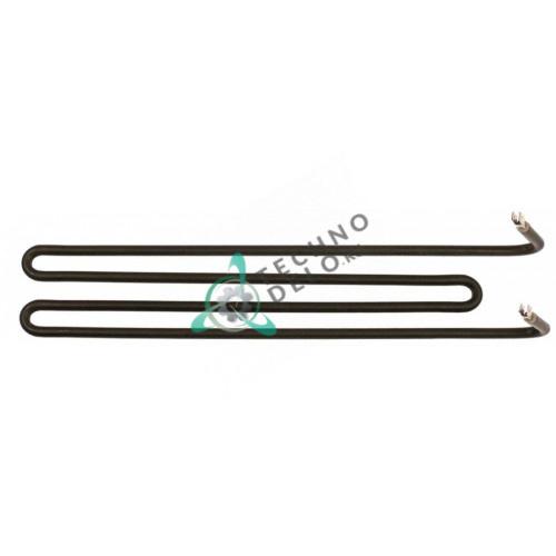 Тэн (1200Вт 230В) 402x75x70мм трубка d-6,5мм сухой нагреватель DER001ZR10 для сковороды GIGA M6FT4EL и др.