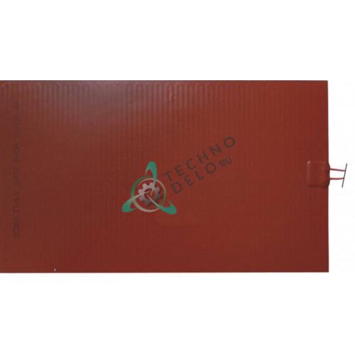 Пластина нагревательная 460x270x1мм 600Вт 230В 2304802 для Tecfrigo