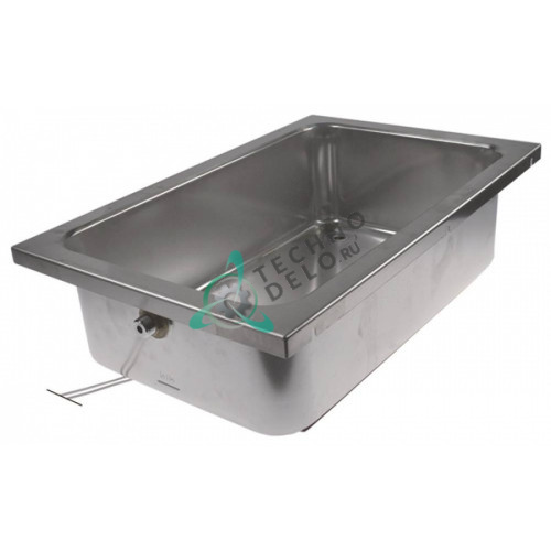 Ванна 1000Вт 230В 575x370x160мм для паровой бани