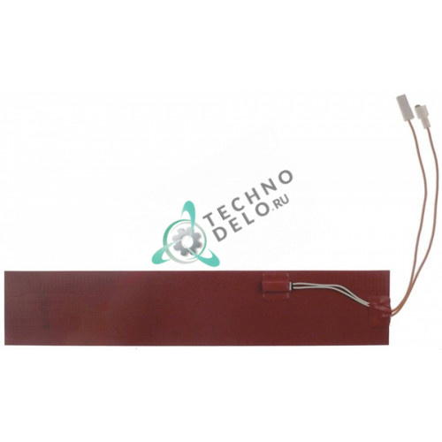 Пластина нагревательная 500Вт до 140 °C 380x73мм H110285 для Comenda, Hoonved FC3E/FC3M/FC4M и др.